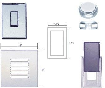 Mirrored Accessories-acrylic mirrored grills-dimmer knobs & more