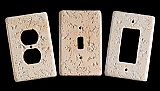 Simulated Stone custom switch plates