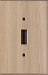 Poplar Wooden Switchplates