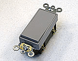 Decora Rocker Switch in Gray