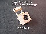 S-Video for 2-3-4-6 port housings