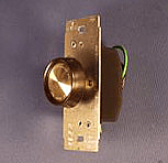 Electrical supplies in a push on-off dimmer switch