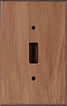 Canary Wood switch plates