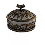 #AP1821 Bamboo Vanity Top Sm. Jar