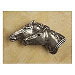 #AP023 Running Horses Knob