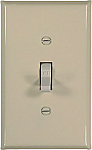 Almond metal switch plates