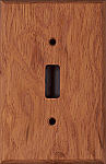 Brazilian Cherry switch plates