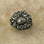 AP#428 Sunflower Round Knob Small