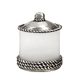 #AP1592 Roguery Large Jar with Pewter Lid