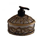 #AP1819 Bamboo Vanity Top Sm. Dispenser