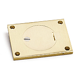 #AP-6304-BE Brass Hinged Cover