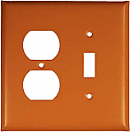 Terra Cotta Switch Plates