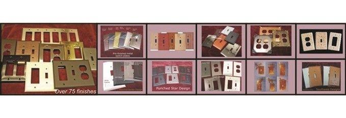 All Switch plates made by Arnev Products, Inc.