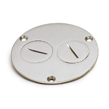 Ap 523 Dp Ns Nickel Silver Floor Box Cover Floor Outlets