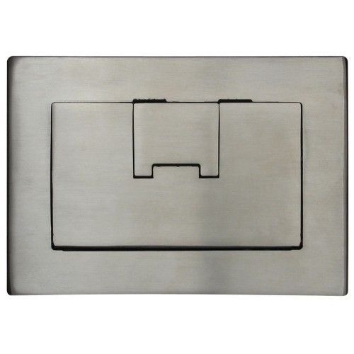 Superb APC E9763SS Floor Box Cover 3 Gang Rectangular In Stainless
