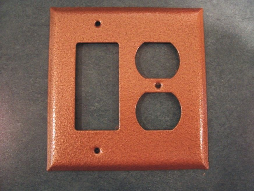 Hammerd Copper Design Switchplates Copper Outlet Covers
