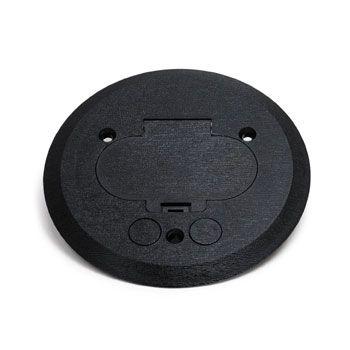 Pfc E Ebony Floor Box Cover Concrete Floor Electrical