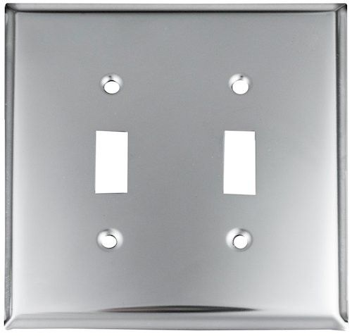 Chrome Design Switchplates Chrome Outlet Covers Chrome