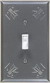 Thunderbird Adobe Gray switch plates