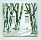 Birch Porcelain Enamel Switch Plates