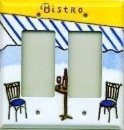 Bistro switch plate covers