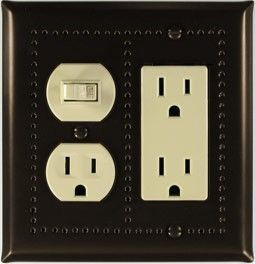 Renaissance Bronze switch plates