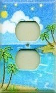 Island Design switch plates
