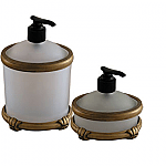 #AP1848 Pompeii Vanity Top Lg. Dispenser. #AP1849 Ponpeii Vanity Small Dispenser.
