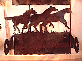 Horse Paper Towel Holder