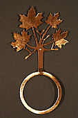 Maple Leaf Towel Ring