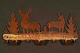 "Buck 24"" Coat Rack"