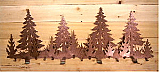 "Pinetree 46"" Coat Rack"