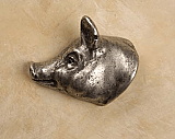 AP#813 Pig Head Knob Facing Left
