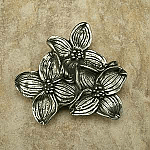 AP#2225 Dogwood Flower Knob Large