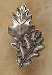 AP#828 Double Oak Leaves Small