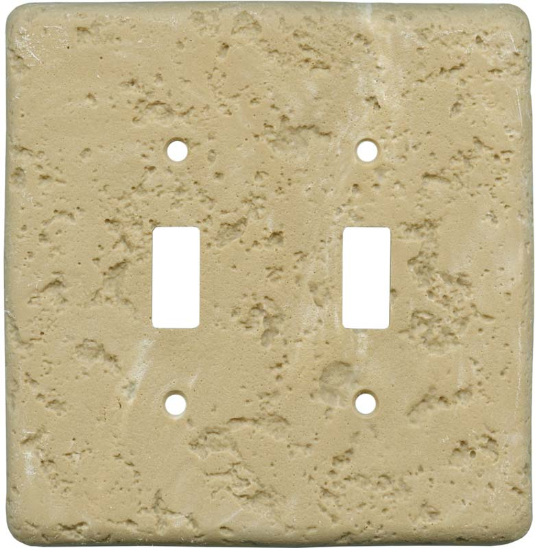 Simulated Stone Switch Plates in 12 colors