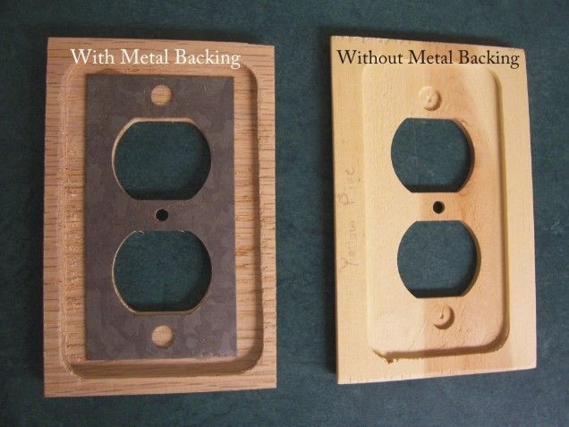 White Oak Rift Cut Wood Switch Plates
