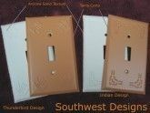 Southwest Design Switch Plates
