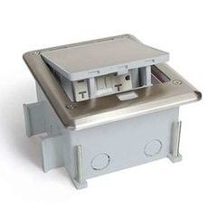 # 3 Outdoor Floor Boxes for Concrete