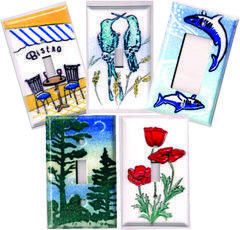 painted_unique light switch covers_porcelain
