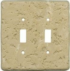 stone_unique light switch covers