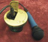 AP-812-DFB-LR-W/2XLR Floor Box for XLR Microphone jacks