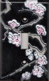 Cherry Blossom switch plate covers