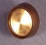 Brown Electrical Push Button Round dimmer knob