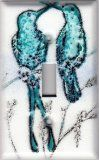 Hummingbird Porcelain Enamel Switch Plates