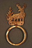Buck Towel Ring
