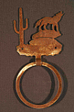 Coyote Towel Ring
