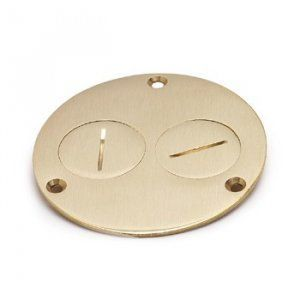 AP-523-DP Floor Box Cover in Brass or Aluminum