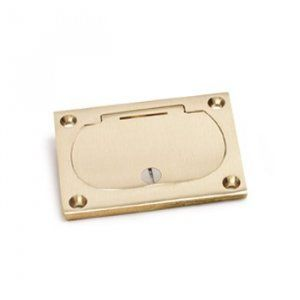 AP-6304-DFB-1-TEL in Brass or Aluminum for Concrete Floors