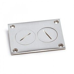 AP-6304-DP Floor Box Cover in Brass or Aluminum for Concrete Floors